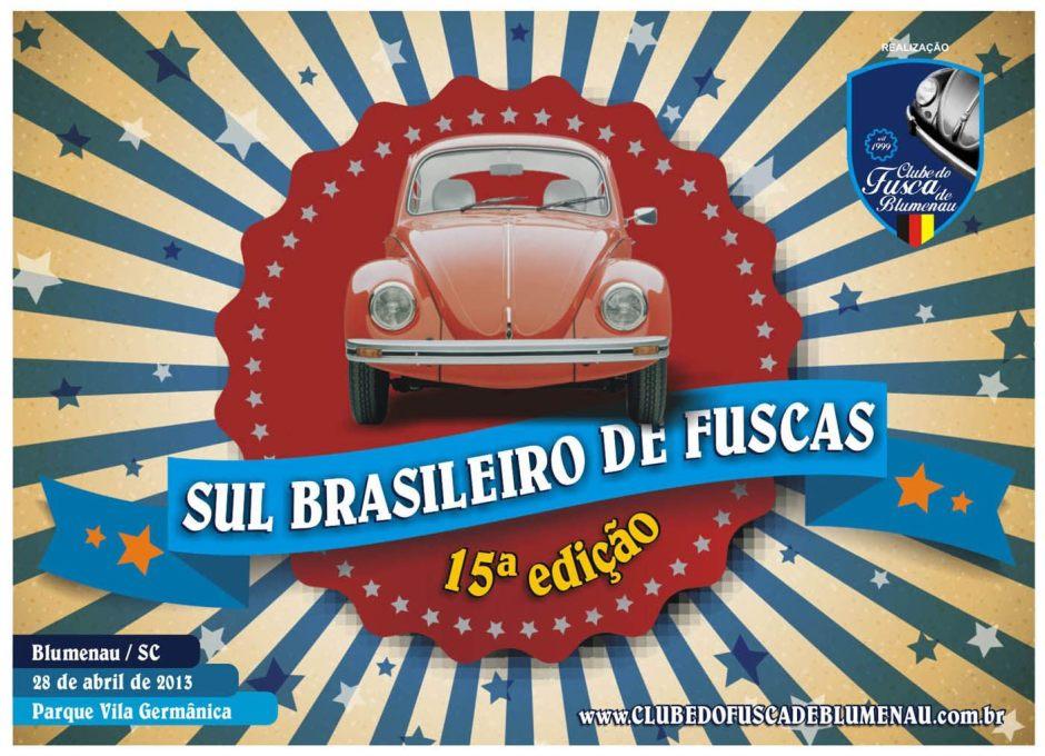 Sul Brasileiro de Fuscas - 15a. edição 2013 - Convite
