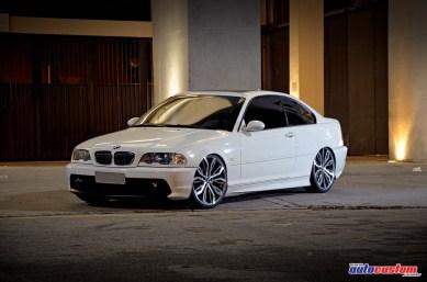 """BMW 323Ci AC Schnitzer, rebaixado e rodas 20"""""""