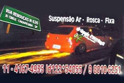 Draggin Customs Suspensão