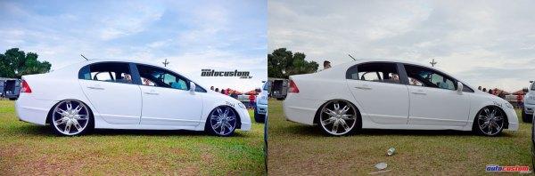 new-civic-branco-fosco-rebaixado-aro-20-rodas-cromadas-12-mega-motor-chapeu-brasil