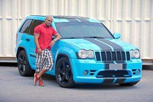 Jeep Grand Cherokee SRT8 2009 mudança de cor, chip, escap e filtro