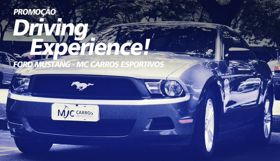 Alugar Mustang em São Paulo - MC Carros Esportivos
