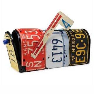 Móveis baseados em automóveis - Caixa de correios
