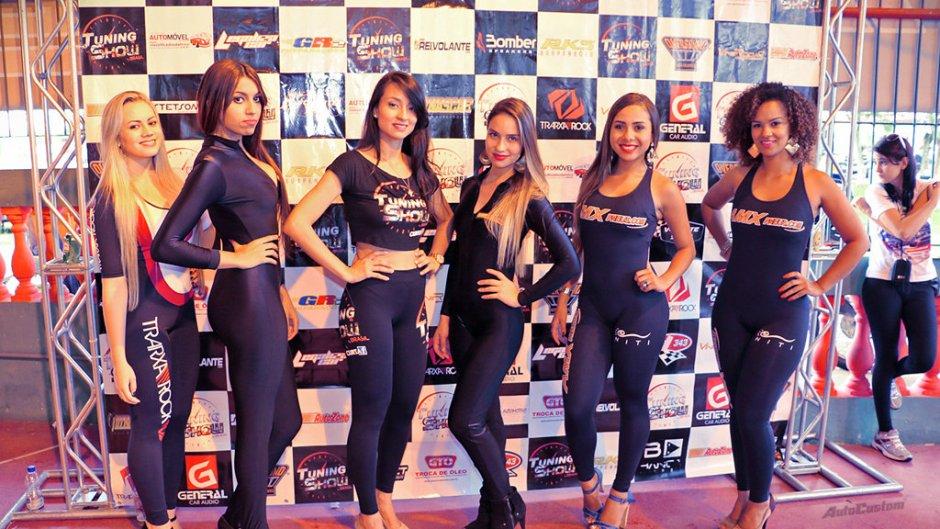 Garotas na 1ª edição do Tuning Show Brasil 2015 em São José dos Campos SP