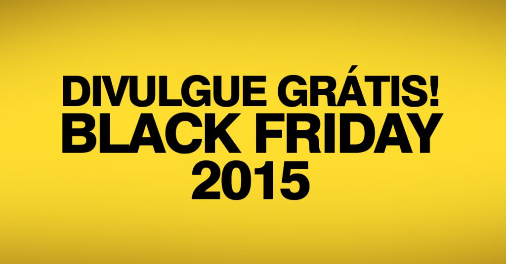 Black Friday 2015 automotivo para carros