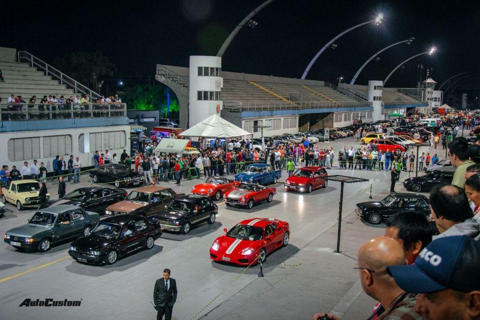 Fotos da Noite Italiana de 2016 - Sambódromo do Anhembi - SP