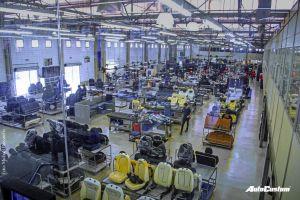 Visita a uma das maiores fábricas de Bancos em Couro do Brasil