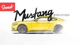 A evolução do Ford Mustang