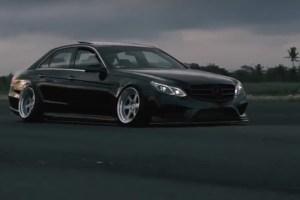 Mercedes cambagem negativa