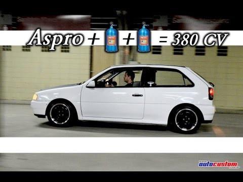 VW Gol GL 1995 2.1 com 380cv Aspro e Nitro de Cacá Motta