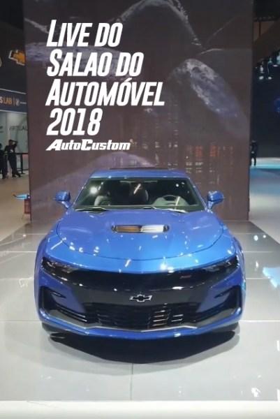 Live Salão do Automóvel 2018