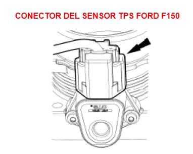 Sensor de Posición de aceleración Ford F150 (TPS: Throttle