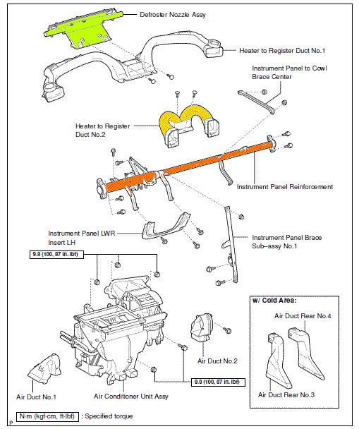 Aire acondicionado y sistema de calefacción/ventilación