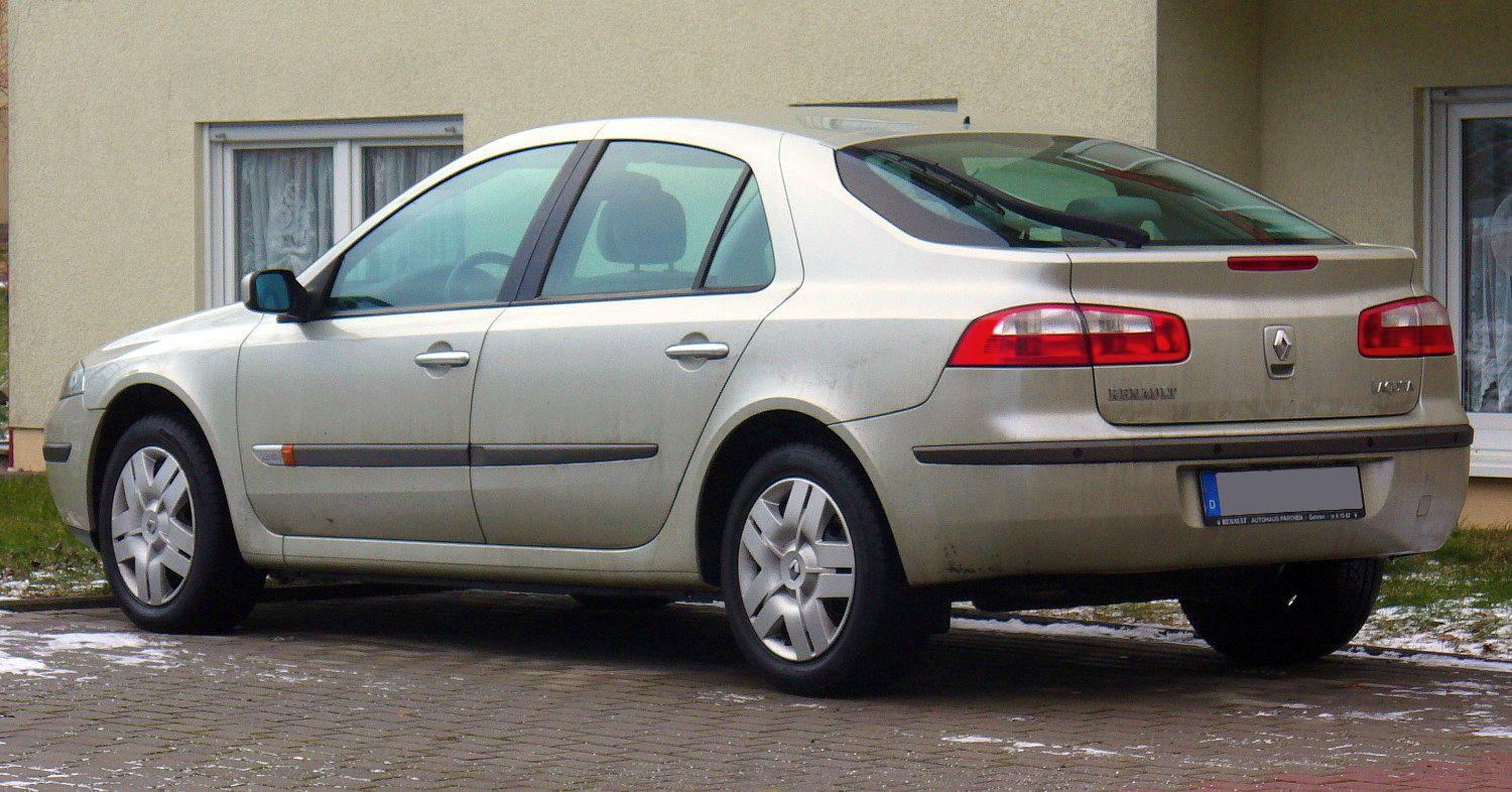 renault laguna technical specifications