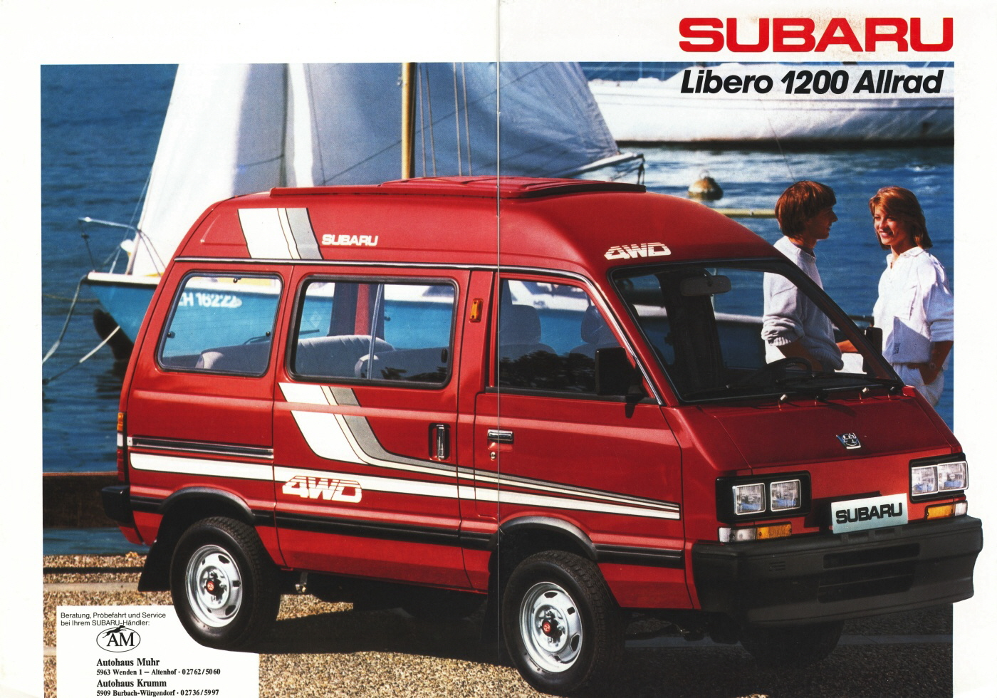Subaru Libero Bus E10E12 12i 54 Hp