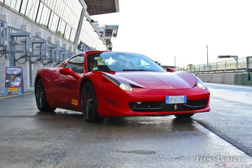 Ferrari 458 Spider - Pirelli P Zero Experience - Le Mans (Novemb
