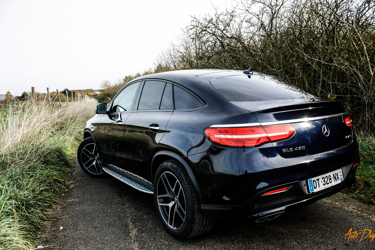 essai mercedes gle coup 450 amg 4matic autoday. Black Bedroom Furniture Sets. Home Design Ideas