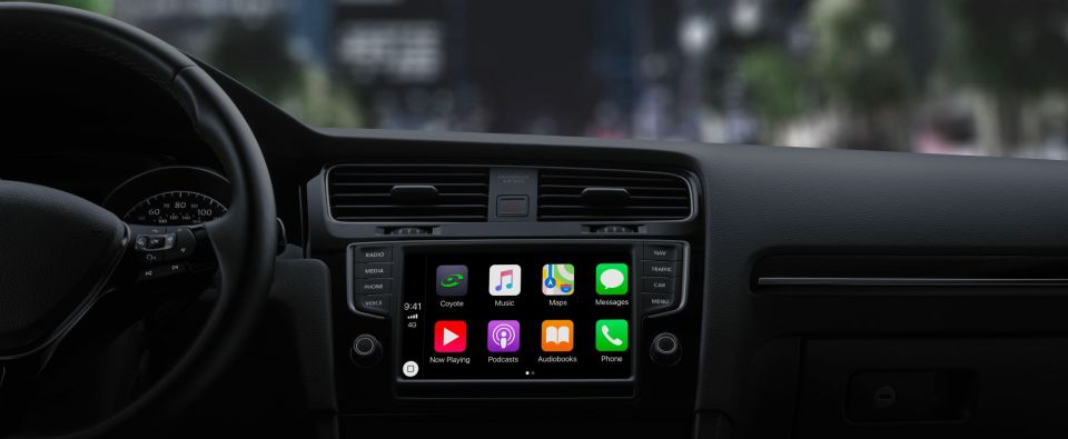 coyote bient t compatible avec apple carplay autoday. Black Bedroom Furniture Sets. Home Design Ideas