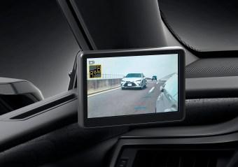 Lexus ES 2021 - rétroviseurs digitaux