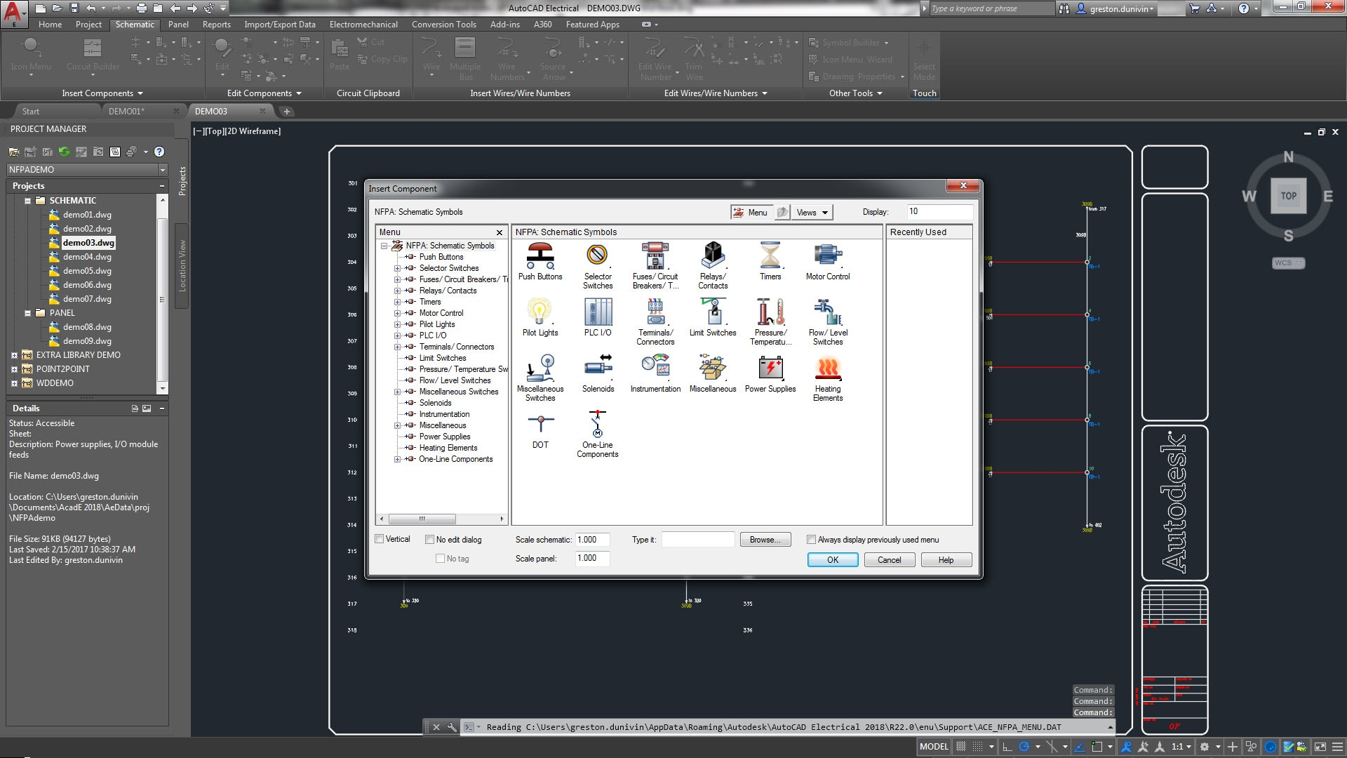 hight resolution of the autocad electrical toolset includes electrical schematic symbol libraries