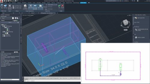 small resolution of create piping orthographic drawings