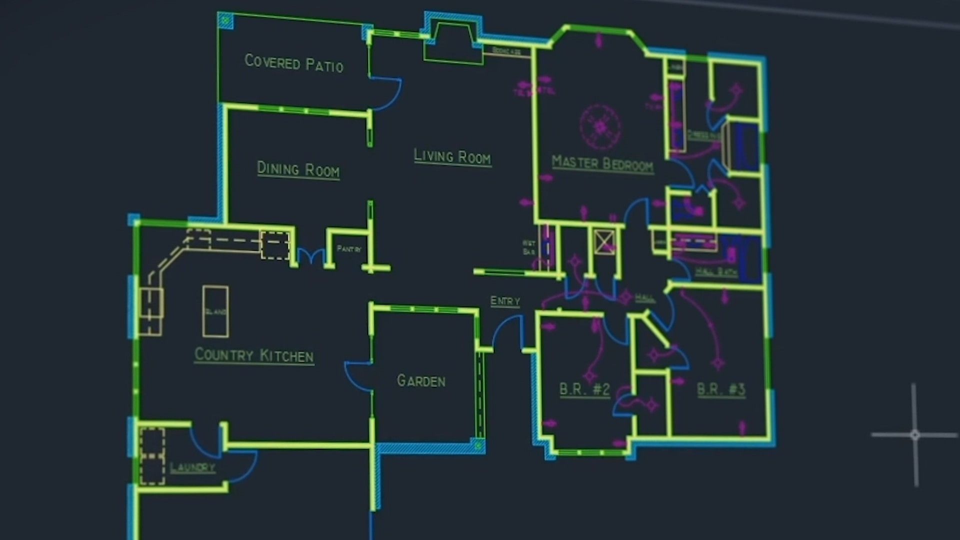 hight resolution of piping layout autocad