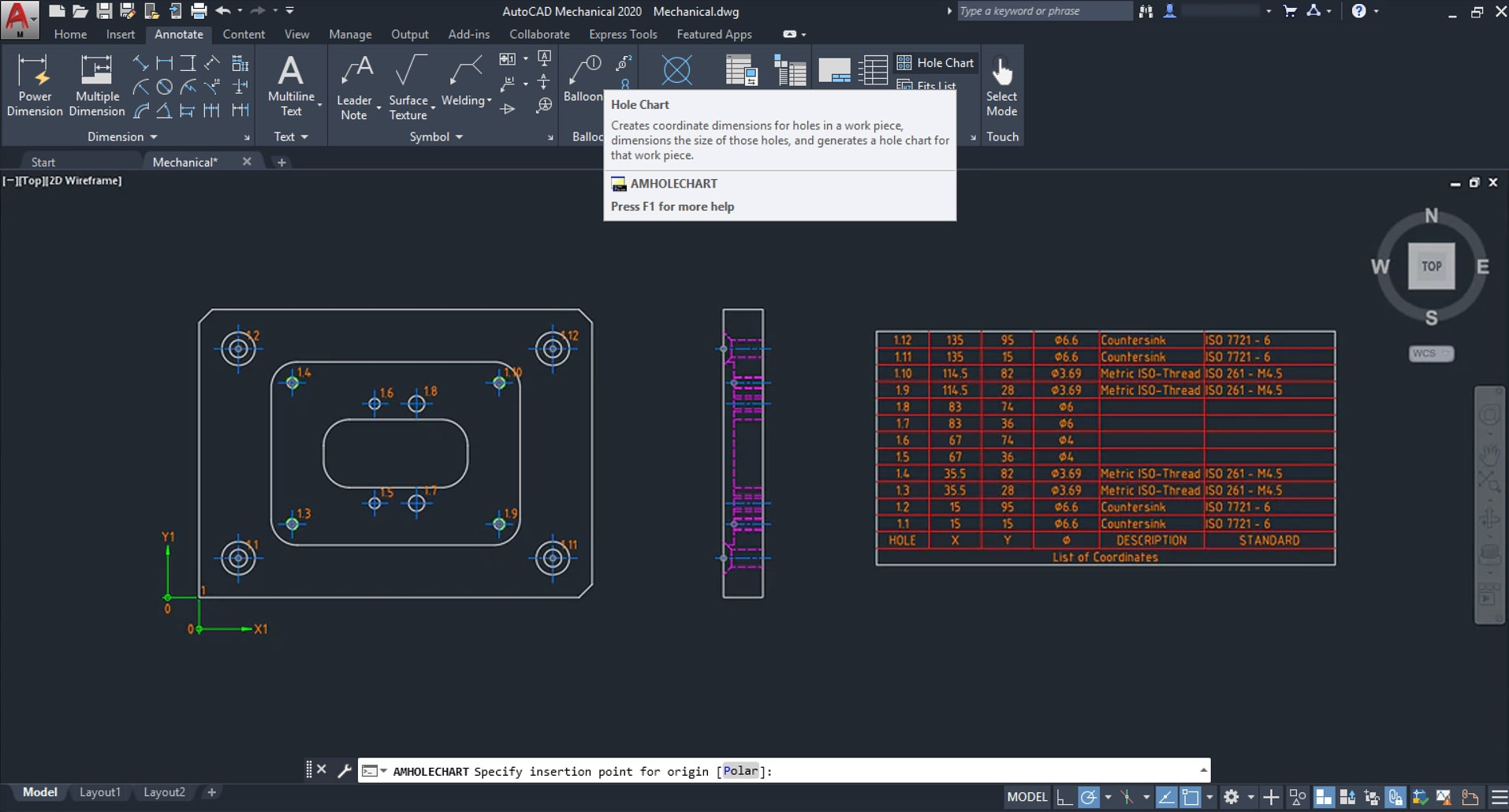 hight resolution of use intelligent drafting tools made for mechanical design