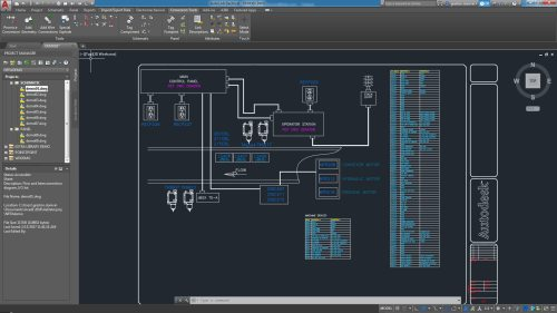 small resolution of autocad electrical toolset electrical design software rh autodesk com control panel wiring diagram simplified control panel electrical wiring basics