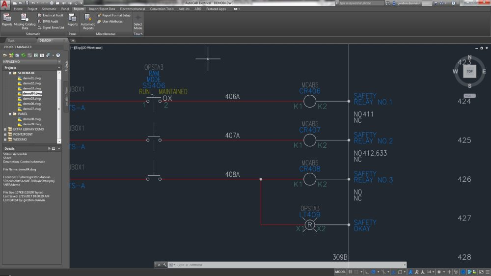 medium resolution of the autocad electrical toolset includes coil and contact features