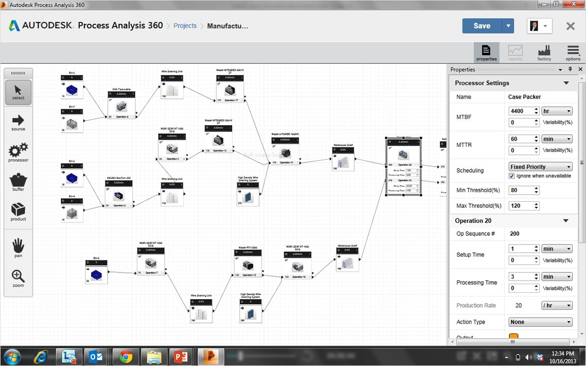hight resolution of block diagram tool in process analysis 360