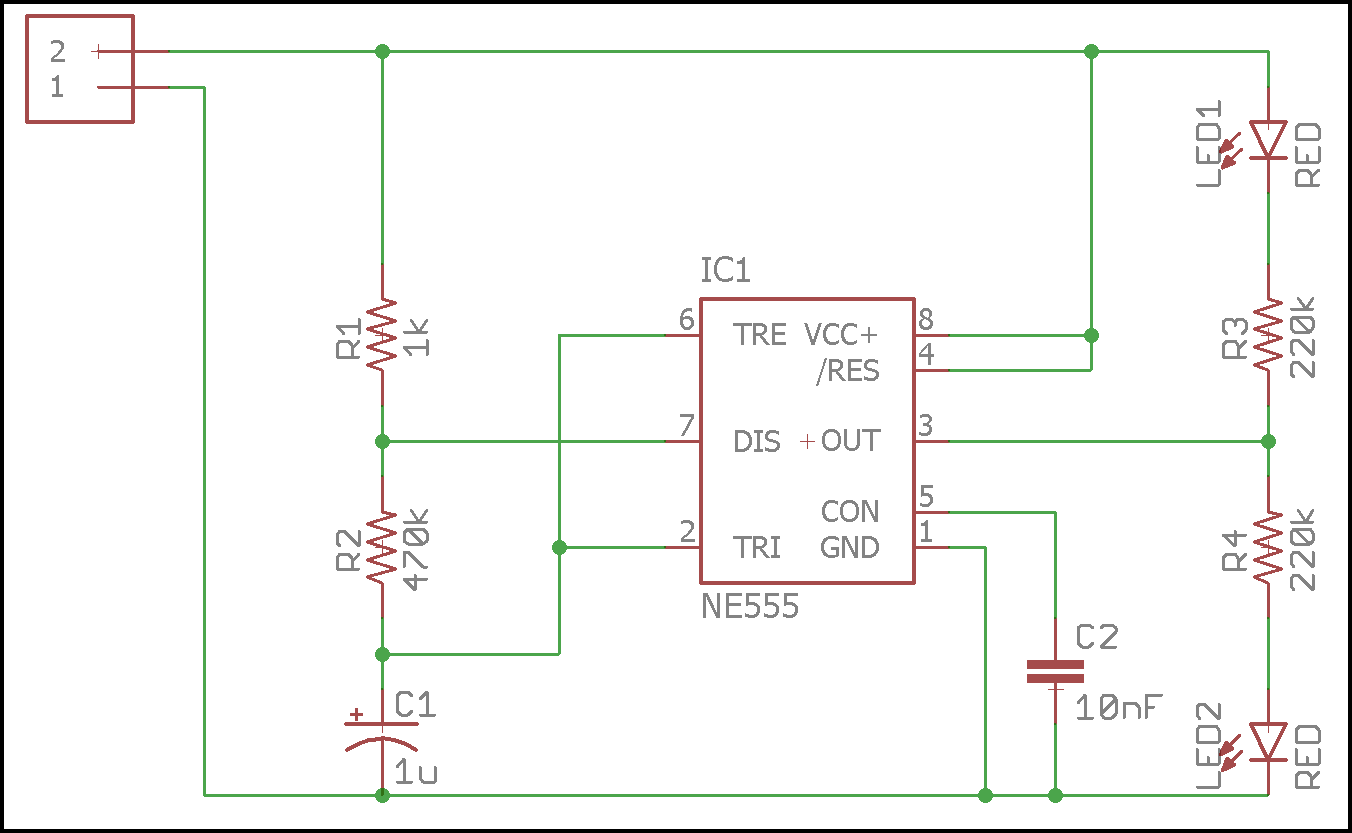 hight resolution of led flasher schematic