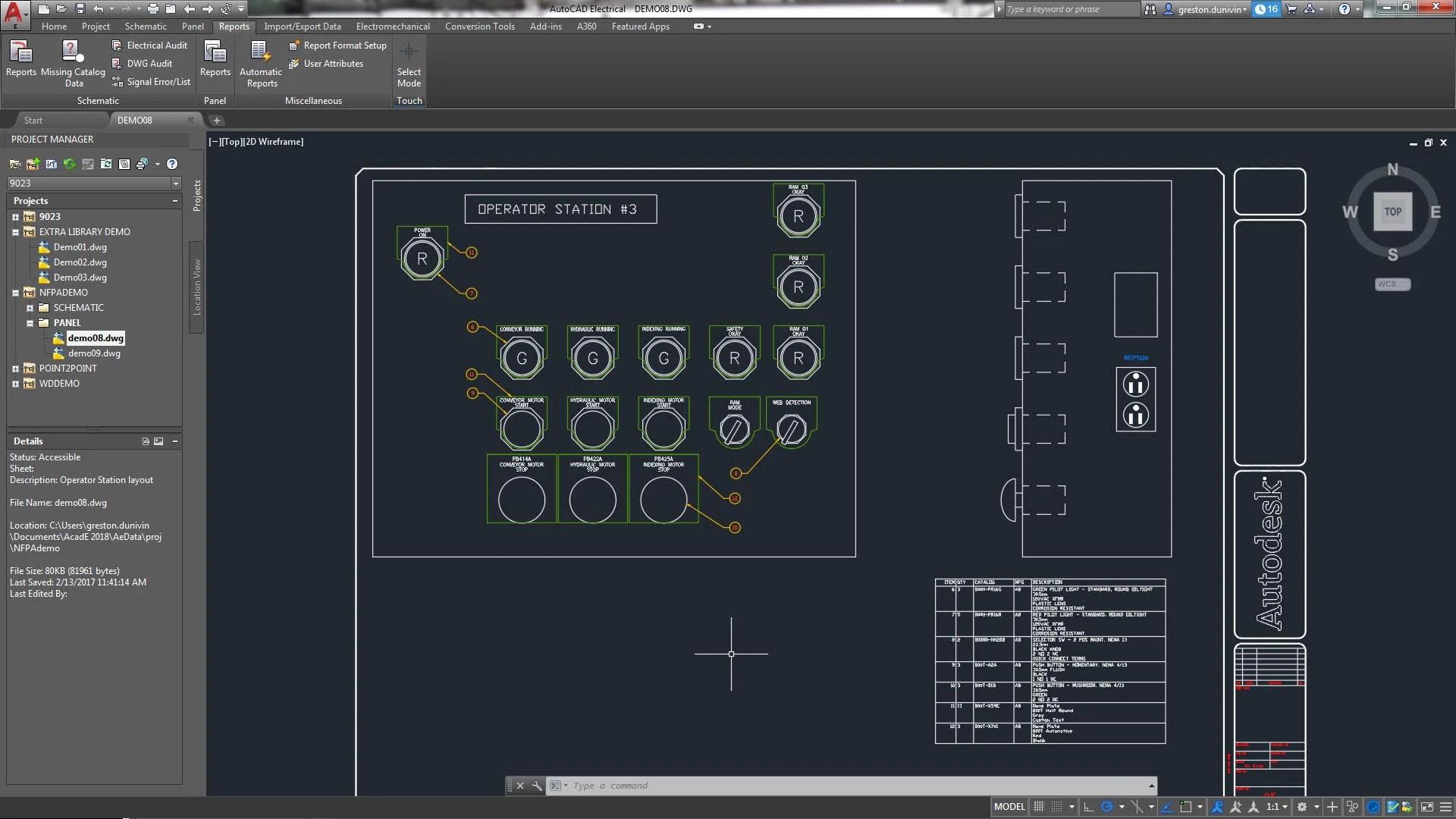 AutoCAD Electrica Logiciel De Conception électrique Autodesk
