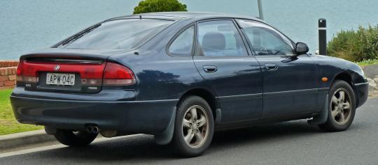 1997 Mazda 626 Cruise Control System Electrical Schematic