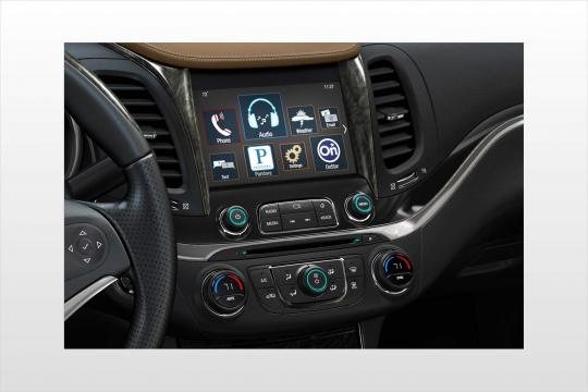 hight resolution of 2018 chevrolet impala interior
