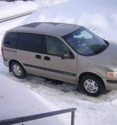 1998 chevrolet venture 3 door extended cargo van photo 2  [ 1600 x 1200 Pixel ]