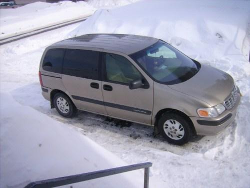 small resolution of  1998 chevrolet venture 3 door extended cargo van photo 2