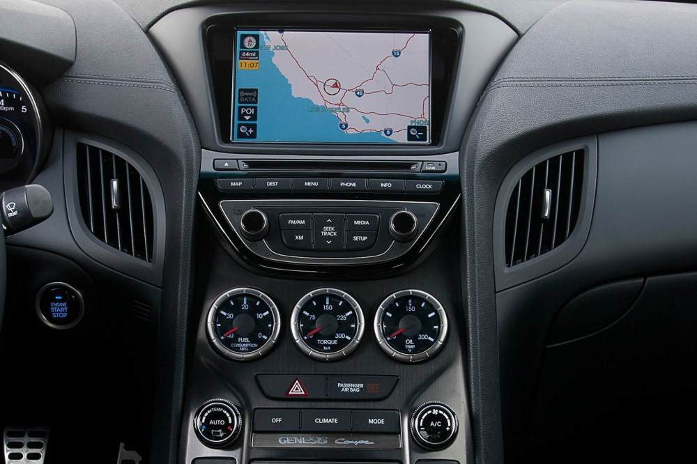 medium resolution of  2013 hyundai genesis coupe interior