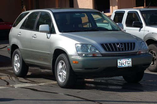 small resolution of  2002 lexus rx 300 photo 4
