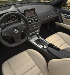 2010 mercedes benz c class c300 4matic luxury sedan interior  [ 2048 x 1365 Pixel ]
