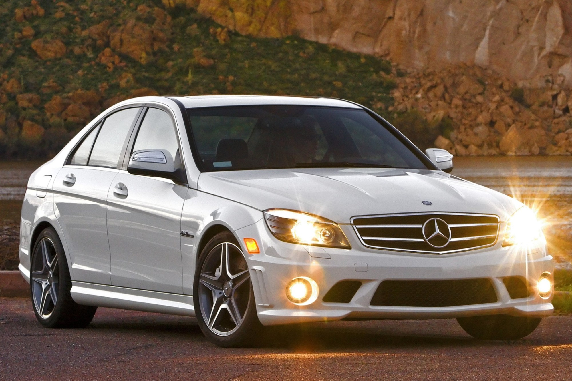 hight resolution of  2010 mercedes benz c class c300 4matic luxury sedan exterior