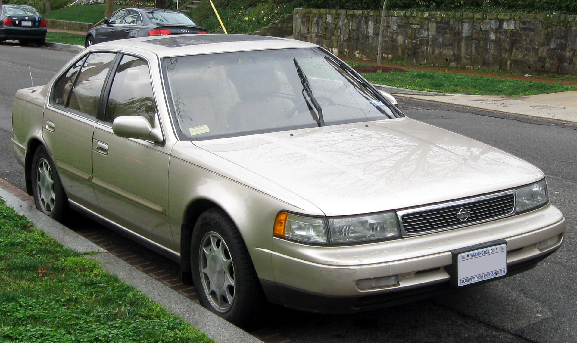 hight resolution of 1992 nissan maxima gxe auto photo 1
