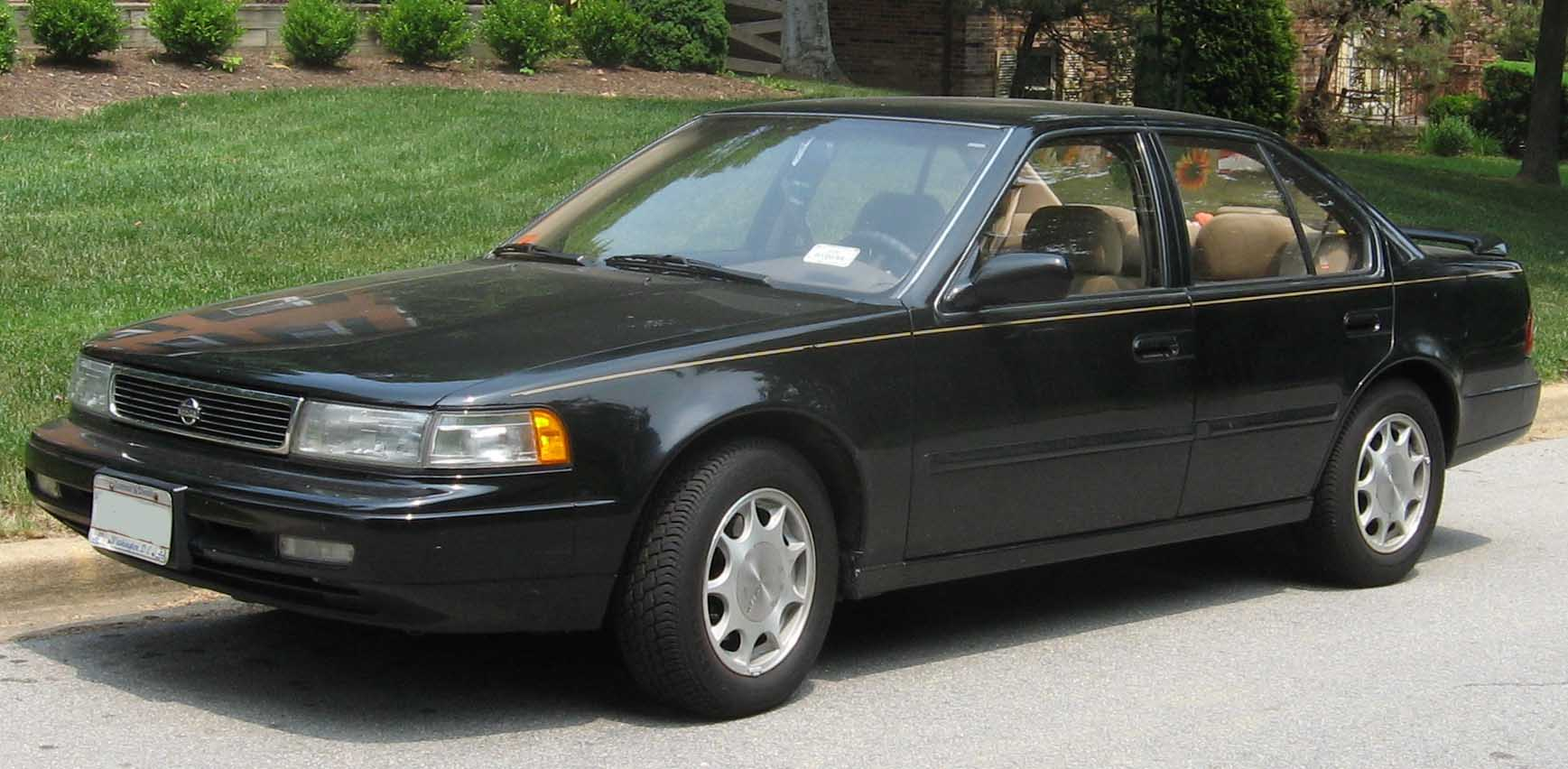 hight resolution of  1992 nissan maxima gxe auto photo 3