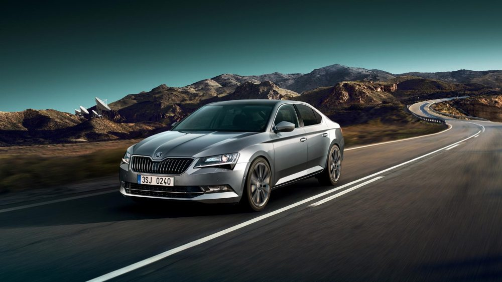 medium resolution of skoda superb with new equipment