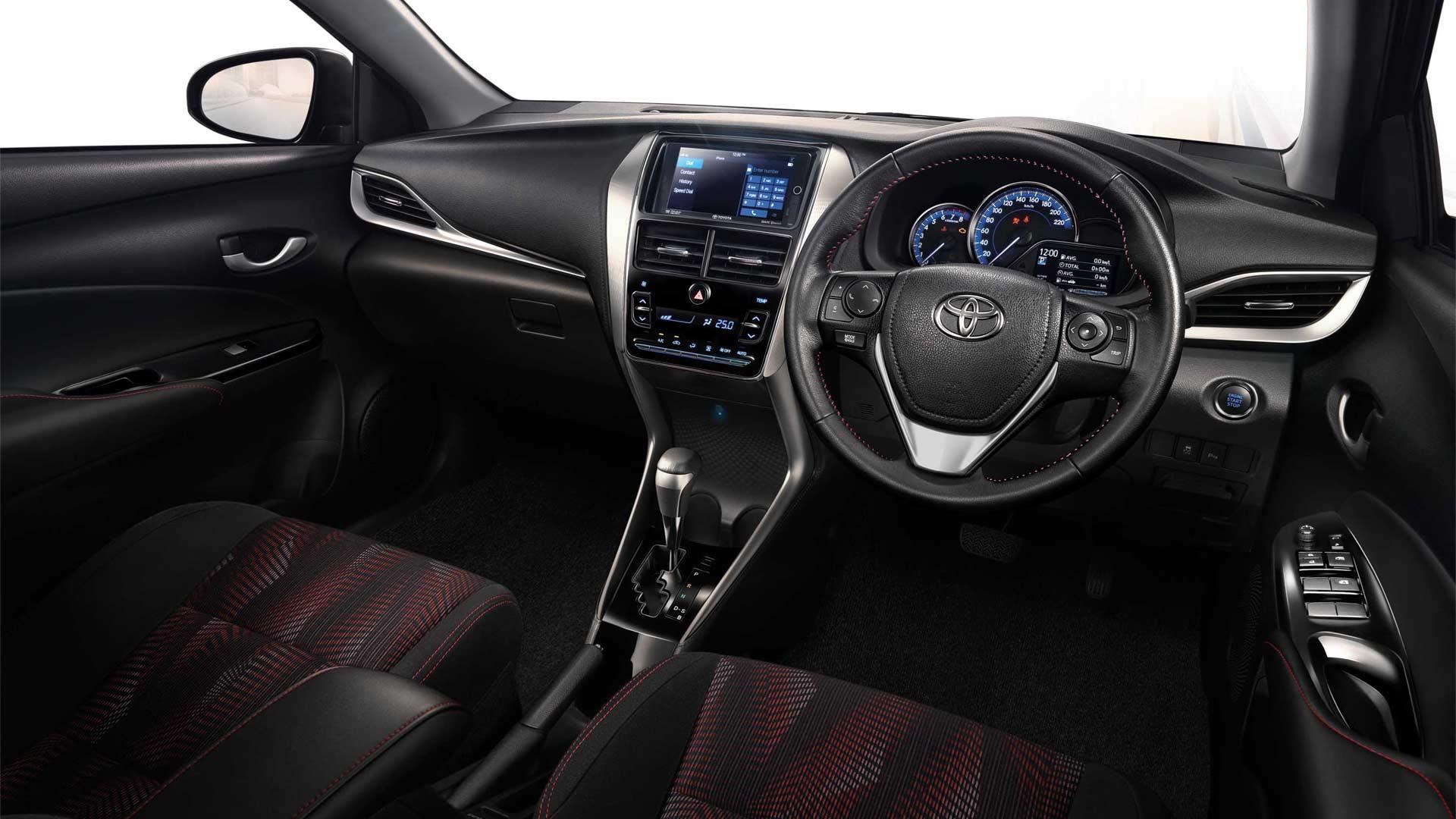 interior all new yaris trd sportivo toyota parts ativ vios starts testing in india autodevot