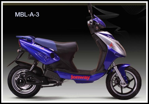 Jonway Electric Bike Export SeriesMBL-A-3