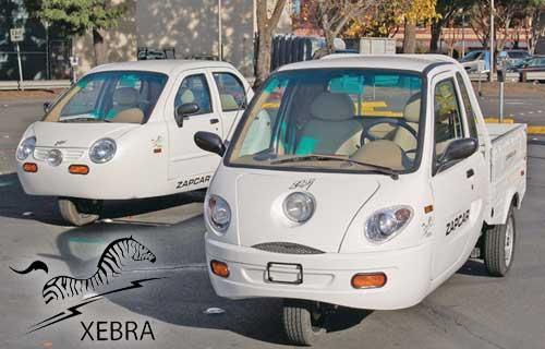 Xebra Elec. Car and Truck