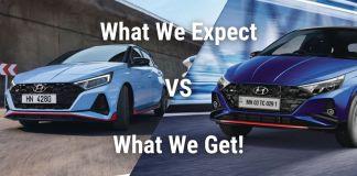 Hyundai i20 N Line vs i20 N