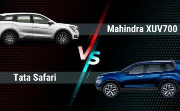 Mahindra XUV700 Vs Tata Safari