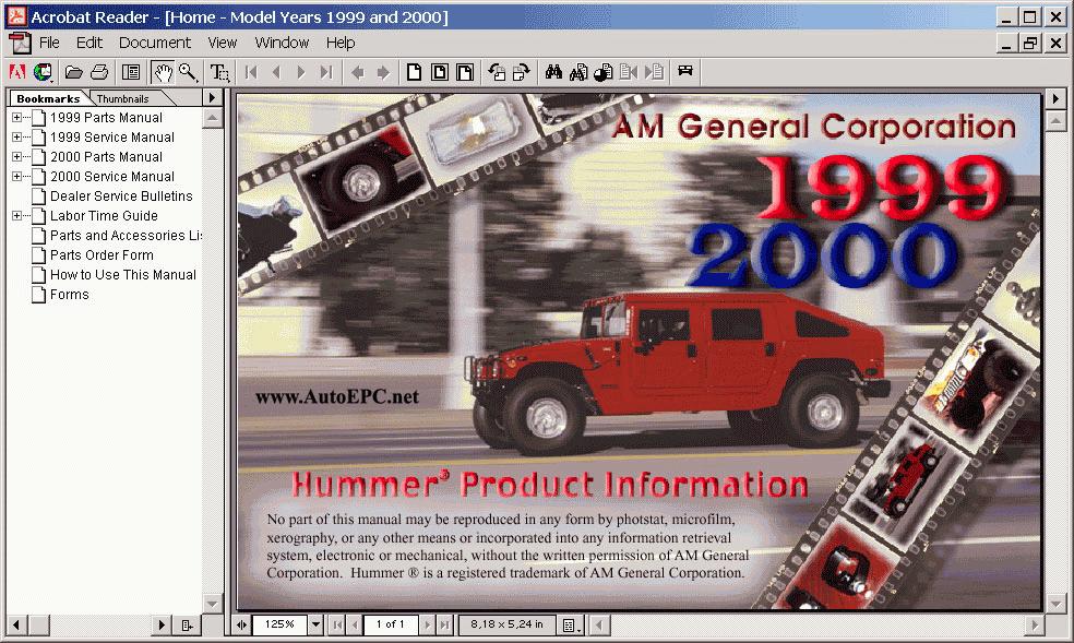 Hummer H1 Wiring Diagram Free