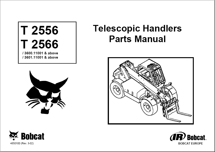 Bobcat Telescopic Handlers electronic spare parts catalogue